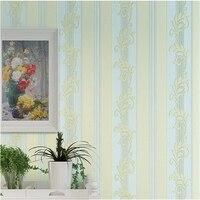 beibehang Fine pressure 4D stereo American vertical pattern wallpaper living room bedroom high end home decoration wallpaper