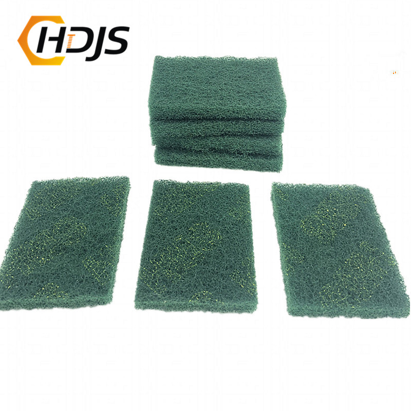 Industrial Scouring Mat, Coarse Derusting Cloth, Flexible Non-woven Cloth, Manual, Kitchen Cleaning, Scotch Cloth