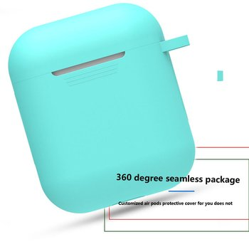 Wireless Bluetooth Earphone Case For Apple AirPods Silicone Charging Headphones Cases For Airpods Charging Box Protective Cover image
