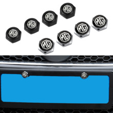 Caps-Covers MGZS MGGS Bolt License-Plate Auto-Decoration Security-Screw MG6 Car for Mg3/Mg5/Mg6/..