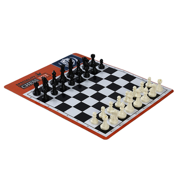 2020 New Chessboard Game Appearance Portable Folding Travel Family Party Chess Set International Chess Game Backgammon 1 Set