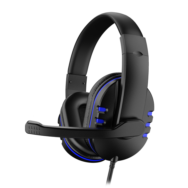 3.5mm Wired Gaming Headset Deep Bass Game Earphone Computer Headset Gamer Headphones With HD Microphone наушники игровые 4