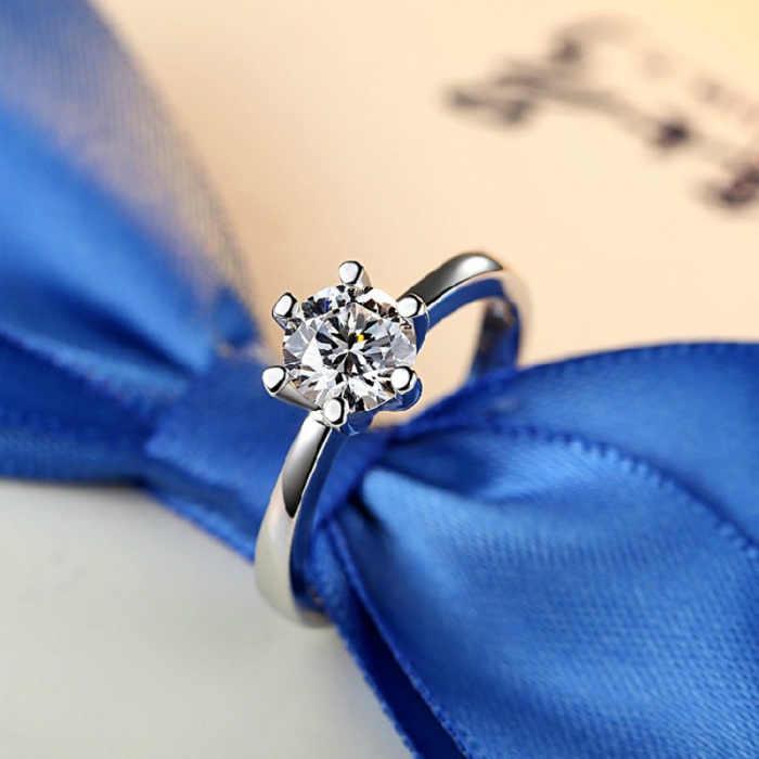 2019 Style bohème femmes anneau cercle doigt cerceau charme classique Zircon bijoux cadeaux pour les femmes mariée mariage Anillos Mujer