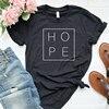 Faith Hope Love Christian T-shirt God Tee Gift Woman Short Sleeve Cotton Tops 23