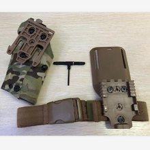 TMC 63DO Coldres Glock17 X300 Holster Gota Adaptador de Liberação Rápida Conjunto Cinto Militar Tático Coldre Coldre Gaiter