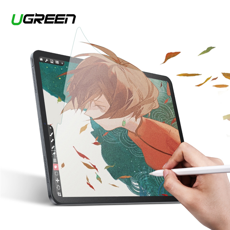 Ugreen Protective Glass Paperlike Matte Film For Apple IPad Pro 11 10.5 9.7 12.9 7.9 IPad Mini 5 4 Paper Like Screen Protector