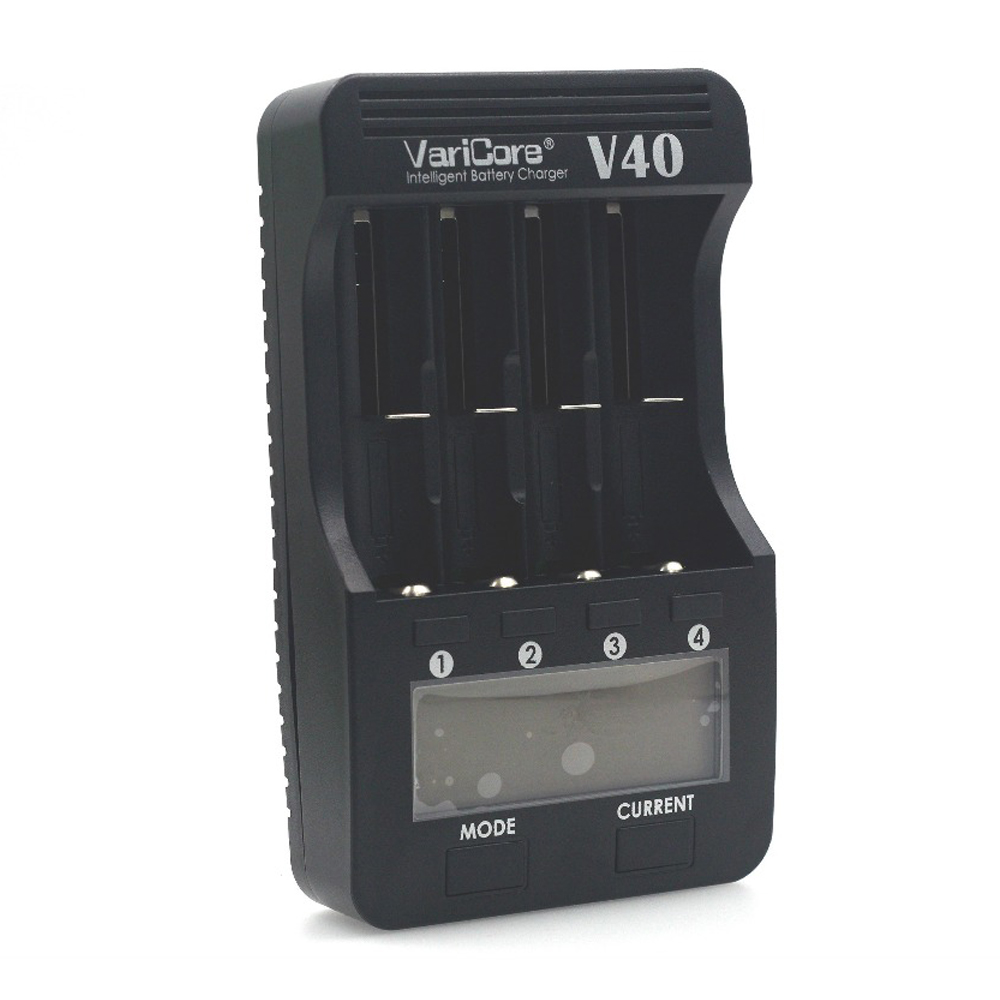 New VariCore V40 LCD Battery Charger for 3.7V <font><b>18650</b></font> 26650 18500 16340 14500 18350 lithium battery 1.2V AA / AAA NiMH batteries image