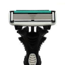חדש Pro 16 יח\חבילה DORCO קצב 6 חד תער להבים לגברים מכונת גילוח סכיני גילוח Mens אישי חד פעמי גילוח גילוח להבים