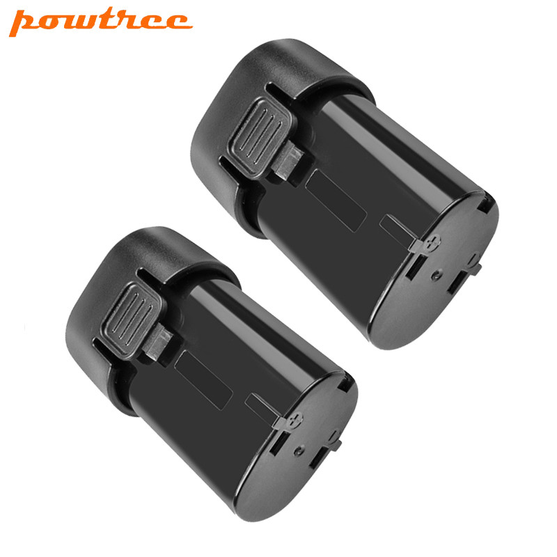 2X 2500mAh 7.2V Li-ion BL7010 Rechargeable Battery for Makita 194355-4 194356-<font><b>2</b></font> TD020DS GN900 <font><b>7010</b></font> image