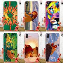For Huawei Honor Mate 7 7A 8 9 10 20 V8 V9 V10 G Lite Play Mini Pro P Smart Special Offer Luxury Phone Case The Lion King(China)