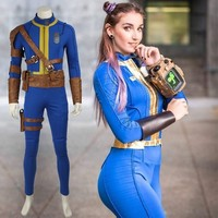 Fallout 4 Cosplay PC Game Nate Costume Halloween Costumes for Men Adult Man Sole Survivor Popular Suit Jumpsuit Superhero Outfit