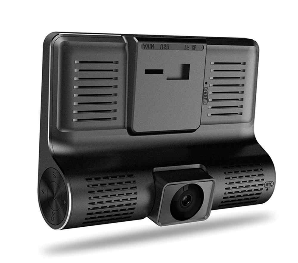 Ban Đầu DVR Xe Ô Tô 3 Máy Ảnh Ống Kính 4 Inch Dash Camera Ống Kính Kép Với Camera Chiếu Hậu Đầu Ghi Hình Tự Động Registrator Dvrs dash Cam