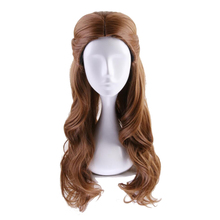 Belle Wig Cosplay-Costume The-Beast Princess Role-Play-Wigs Halloween Party Women And