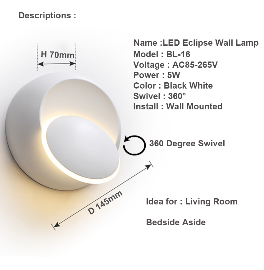 BL16 WALL LAMP MOON (33) SIZE