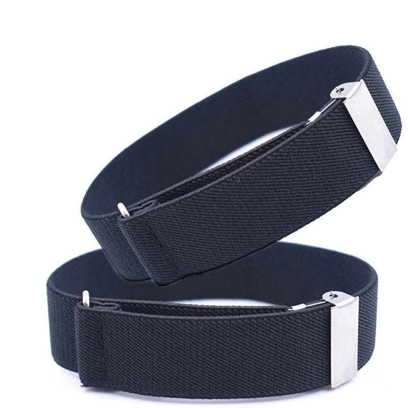 1 Pair Gentleman Formal Shirt Bracelet Sleeve Garter Holder Business Party Cuff Father's Day Gift Sleeve Garter 2.5 Cm Width