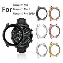 Coque de protection antichoc pour montre Ticwatch Pro 2020, Ultra mince, souple, ajouré, pour montre Pro 3 Pro3