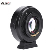 VILTROX EF-EOS M2 Auto Focus Mount Adapter 0.71X for Canon EF Lens to Canon EOS-M Camera Mount Adapter New цена