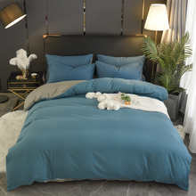1pc 100 cotton Duvet cover twin king queen size fabric solid color quilt cover Multi-color and multi-size optional tanie tanio FLOWERS AND CAKES Qualified Plain Dyed Quilted home hotel 500TC AI di shang 1 3kg Adults 100 cotton pure color Duvet Cover