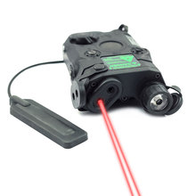 цена на Tactical Laser Red Dot Laser With White LED Flashlight and IR Lens 270 Lumens for Standard 20mm Rail Night Vision AN/PEQ-15