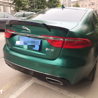 high quality and hardness Carbon Fiber and ABS Car Rear Trunk Spoiler For Jaguar Carbon Fiber Spoiler XF 2016 2017 2018 by paint