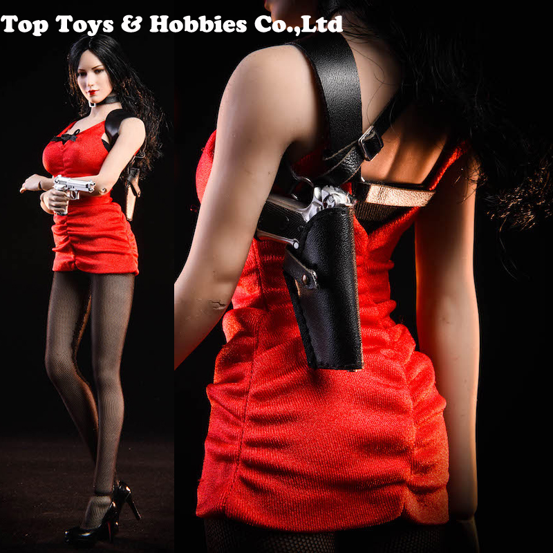 NEW In Stock NRTOYS NR18 1/6 Scale Zombie Hitman Ada Wong Dress Set Model Fit Female Body Woman Head Sculpt