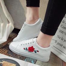 Women Shoes Fashion White Sneakers Vulcanize
