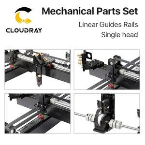 Image 4 - Cloudray ensemble de pièces mécaniques, kit Laser 1300x900mm, pièces de rechange pour Machine Laser CO2 1390 à bricolage