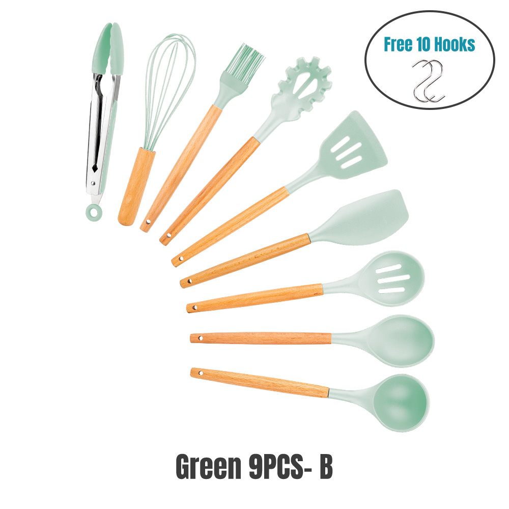Mint GREEN 9PCS-B