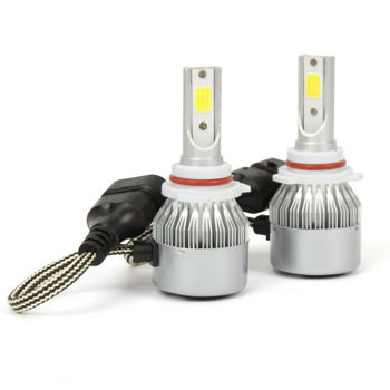 2 X LED Headlight HB4 9006 Fog Light Bulbs For Toyota Sienna 2001 2006 Super Bright Headlight Kit Led Headlamp image