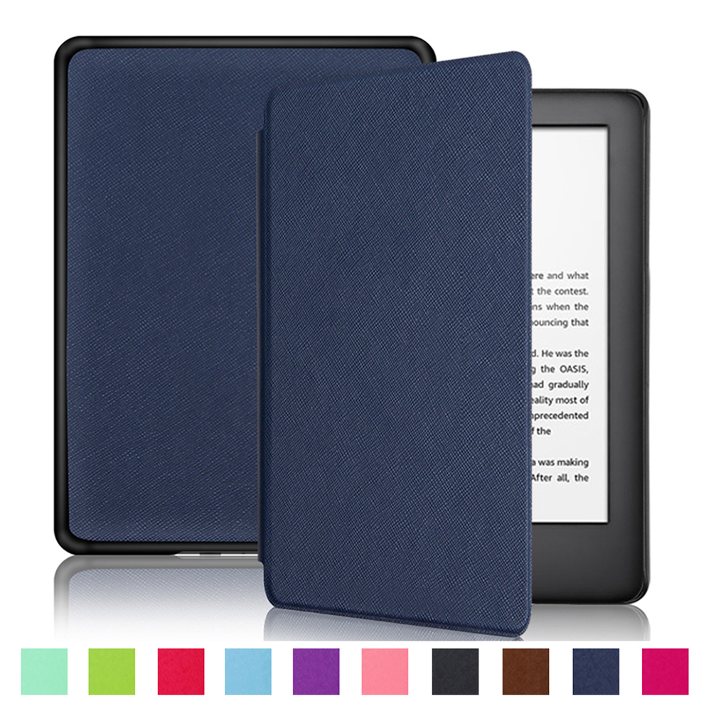 Ultra Slim PU Leather Case E-reader Protective Cover For Amazon Kindle 8/10th Gen Paperwhite 1/2/3/4 Generation Ebook Hard Shell