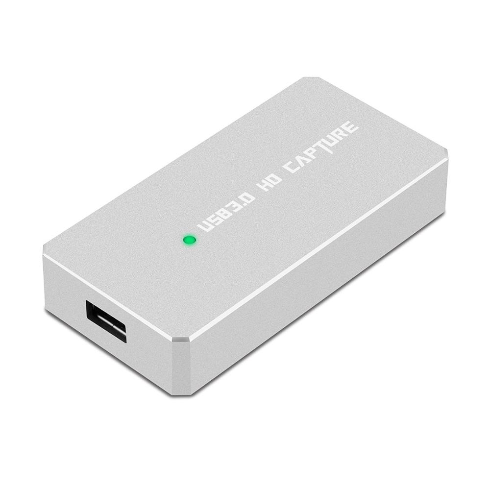 USB 3.0 Capture HDMI To USB3.0 Video Capture Dongle 1080P HD Drive Free Superior AV Capture Device Compatible For Iphone Android