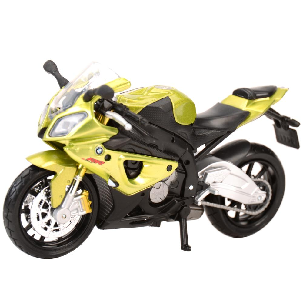 Maisto 1:18 BMW-S1000RR Static Die Cast Vehicles Collectible Hobbies Motorcycle Model Toys