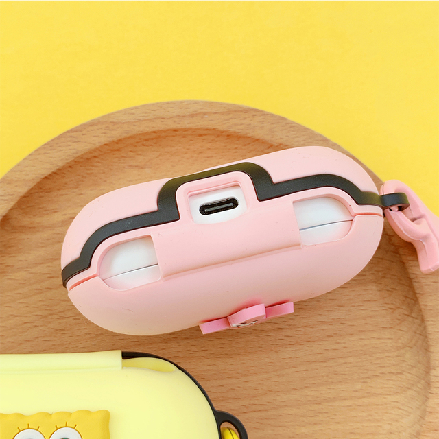 Cute Cartoon Silicone Cover for Samsung Galaxy Buds / Buds+ Case Bluetooth Headset Charging Box Case Wireless Headphone Skin Bag