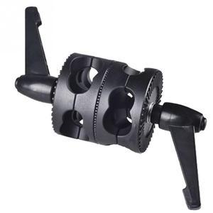 Image 1 - ユニバーサルブラケット調整可能な多機能ホルダーフォトスタジオグリップヘッドクランプデュアルスイベル写真アーム支持アクセサリー