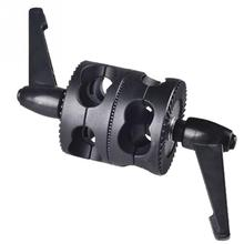 Universal Bracket Adjustable Multifunctional Holder Photo Studio Grip Head Clamp Dual Swivel Photography Arm Support Accessories