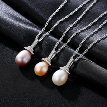 S925 Silver Necklace Pendant Inlaid 3A Zircon Baitao Fashion Boutique Jewelry Ladys for Women
