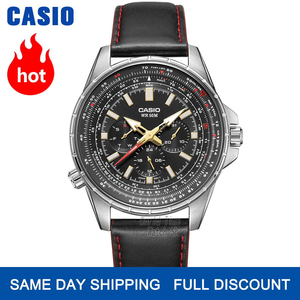 Casio watch flight watch men top brand luxury set quartz men watch 50m Waterproof Sport military Watchs Luminous men clock reloj|watch business|watch f|watch fashion - title=