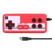 Mini USB Game Console Handle Joystick Wired Handheld Gamepad Controller for Coolboy for Subor