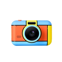 2400W Pixel Dual Camera Front and Rear Sports Camera Educational Toys Digital Camera Full View HD Soft Light Display Children Ca