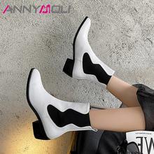 Annymoli/ботильоны на высоком каблуке; Женские ботинки «Челси»;