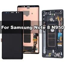 Оригинальный amoled дисплей для samsung galaxy note 8 n950f
