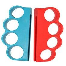 Almohadillas para los juegos del mando apretones de los dedos, accesorios para Fitness, boxeo, para Nintendo Switch, 1 par