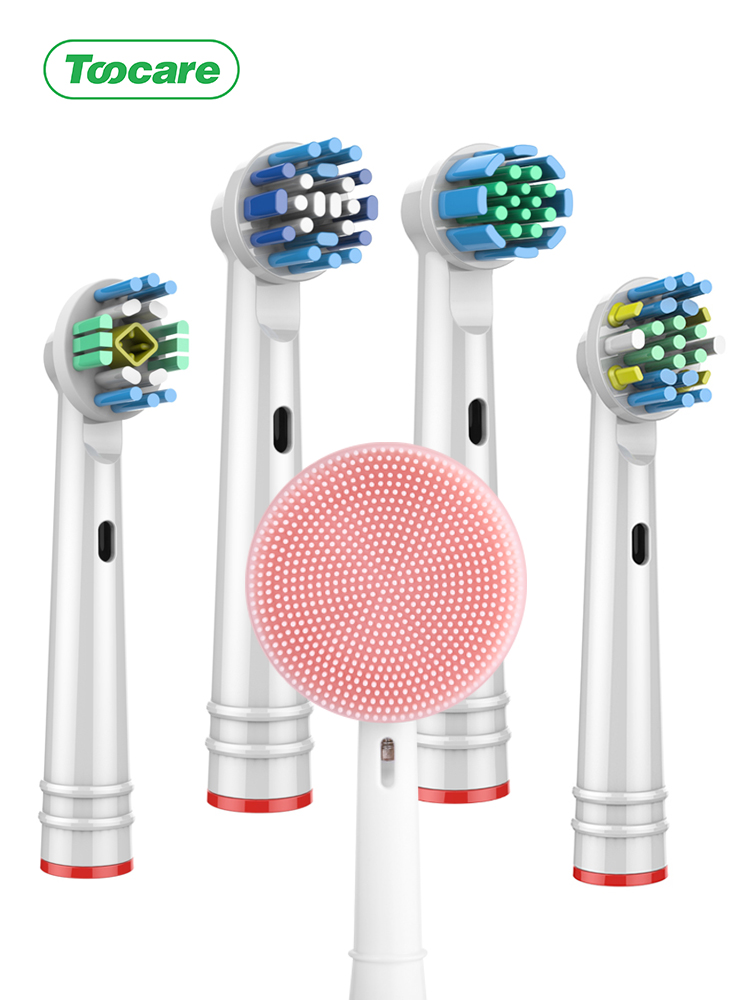 Toothbrush-Heads Replacement Oral-B Cross-Action/sensitive Precision-Clean/3d White/floss