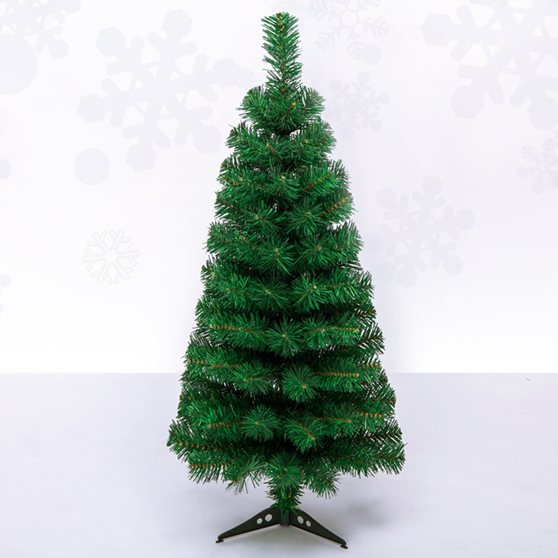 PVC Small Christmas Tree 60 Cm General Christmas Tree 90 Cm Shopping Mall Hotel Decorative Decoration