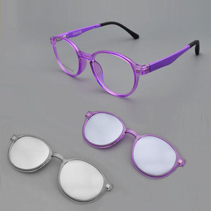 Glasses Small Round Frame Stud