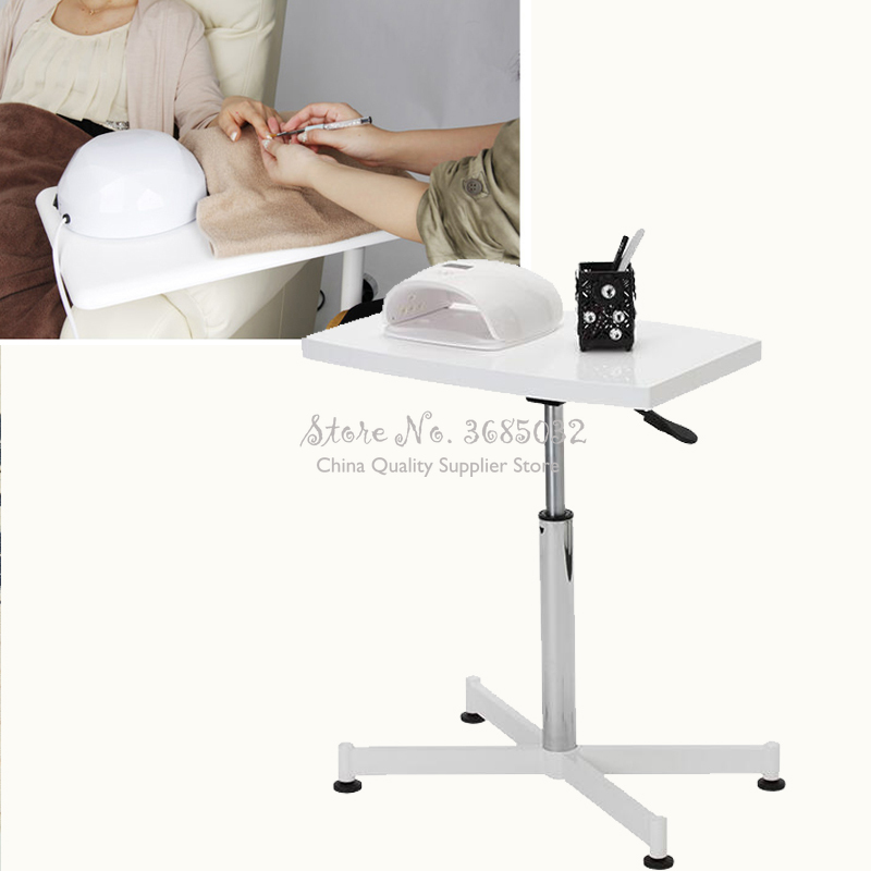 Simple Manicure Table Nail Plate Manicure Table Can Be Raised And Lowered 360 Degree Rotating Nail Table