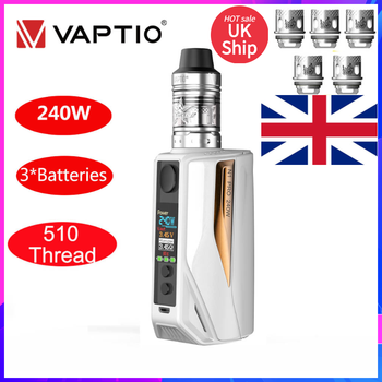 original ijoy zenith 3 kit 360w box mod with diamond subohm vape tank dual 20700 batteries zenith 3 e cig vape zenith 3 kit UK SHIPPING Vaptio N1 Pro Vape KIT E-cigarette Box Mod Kit 240W 2ML Tank Frogman Core Head 510 Mod Without 3*18650 Battery E Cig