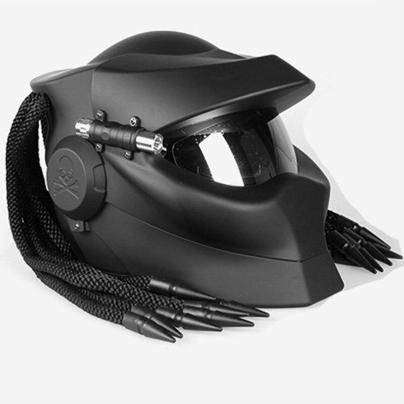 2019 nouveau ABS moto Anti-chute Anti-impact casque Protection coupe-vent casque rétro casque pour unisexe taille L-XL