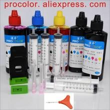 PG 440XL PG440 Sắc Tố CL441 441 Dye ink refill kit cho CANON PIXMA TS5140 MX 370 472 475 535 TS 5140 5150 5151 máy in Phun
