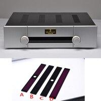 Kyyslb 430*340*95mm a imitação gaowen presplifier chassi escudo gabinete caixa de amplificador diy painel alumínio chassi ferro